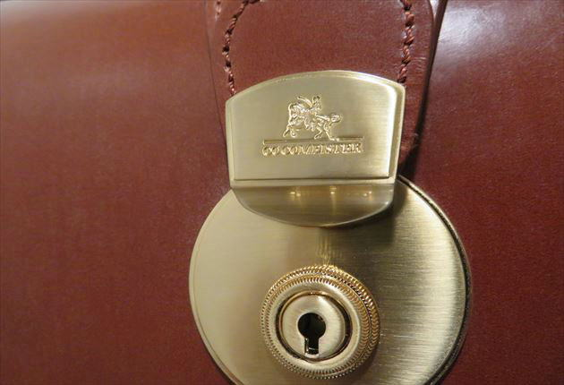 オリジナルの錠前が美しい